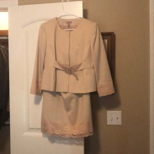 Skirt and jacket by Kim Rogers.